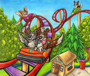 Cardigan-Roller-Coaster