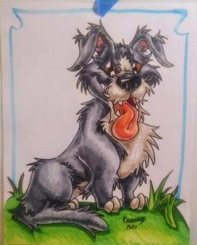 marker dog