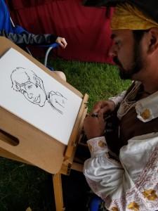me drawing ink